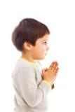 祷告孩子 免版税库存图片