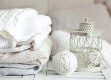 Уютные свитеры Стоковые Фото