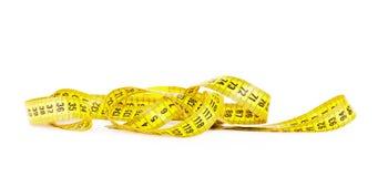 裁缝的测量的磁带 免版税库存照片