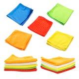 清洁布,毛巾,组织 图库摄影
