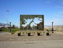 对玛尔维娜战争的纪念碑。 图库摄影