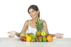 здоровая женщина Стоковые Фото