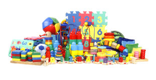 许多个玩具 免版税库存照片
