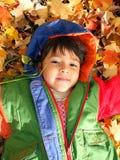 διασκέδαση φθινοπώρου Στοκ Φωτογραφίες