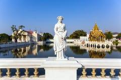 Άγαλμα στο παλάτι πόνου κτυπήματος, το θερινό παλάτι του βασιλιά Στοκ Εικόνες