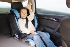 Κάθισμα αυτοκινήτων μωρών πολυτέλειας για την ασφάλεια Στοκ φωτογραφία με δικαίωμα ελεύθερης χρήσης