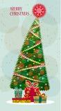 Рождественская елка  Стоковое Изображение RF