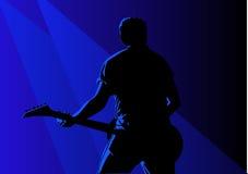 гитарист Стоковая Фотография