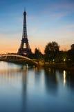 埃佛尔铁塔,巴黎 库存照片