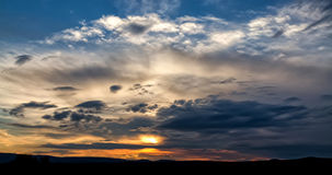 Σκοτεινά σύννεφα θύελλας Στοκ φωτογραφίες με δικαίωμα ελεύθερης χρήσης