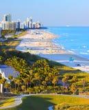 Южный пляж Майами Флорида Стоковое Изображение