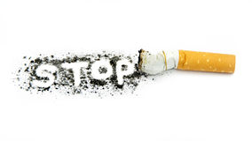 Κάπνισμα στάσεων Στοκ φωτογραφίες με δικαίωμα ελεύθερης χρήσης