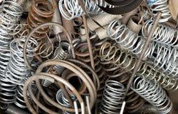 Старые весны металла Стоковые Изображения RF