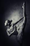 可爱的芭蕾舞女演员 免版税图库摄影