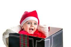 圣诞节婴孩 库存图片
