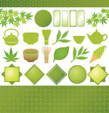 Японский зеленый чай Стоковое фото RF