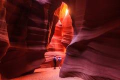 羚羊峡谷,页 库存图片