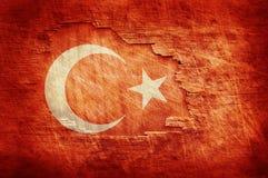 土耳其旗子 库存照片