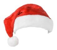 圣诞老人红色帽子 免版税库存照片