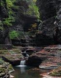 沃特金斯幽谷峡谷 库存照片