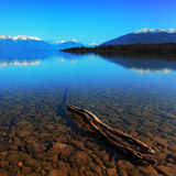 蒂阿瑙湖 库存照片