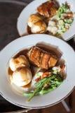 Μεσημεριανά γεύματα της Κυριακής Στοκ φωτογραφίες με δικαίωμα ελεύθερης χρήσης