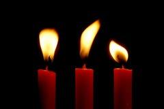 κεριά Στοκ Εικόνες