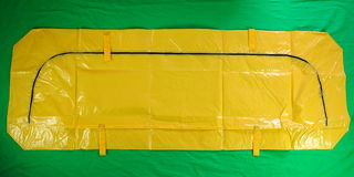 Μίας χρήσης σακούλα για μεταφορά πτωμάτων Στοκ φωτογραφία με δικαίωμα ελεύθερης χρήσης