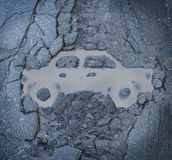 Ασφάλεια αυτοκινήτου Στοκ φωτογραφία με δικαίωμα ελεύθερης χρήσης