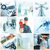 水管工。 免版税图库摄影