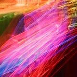 Светофоры в нерезкости движения. Стоковые Фотографии RF