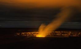 Вулкан Гаваи Стоковое Изображение RF