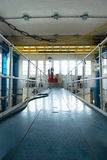Πυρηνικός αντιδραστήρας σε ένα ίδρυμα επιστήμης Στοκ Φωτογραφία