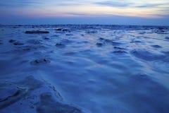 雪和冰背景 免版税库存照片