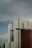 пластмасса индустрии Стоковое Фото