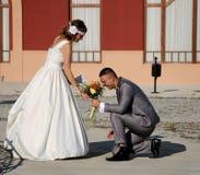 Γαμήλιο ζεύγος Στοκ φωτογραφία με δικαίωμα ελεύθερης χρήσης