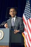 贝拉克・奥巴马总统在亚利桑那 免版税库存照片