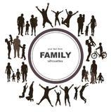 年轻家庭观念。 免版税库存照片