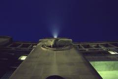 英国国防部大厦细节。 库存照片