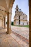 圣比亚焦教会在托斯卡纳 免版税库存照片