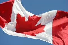 σημαία του Καναδά Στοκ φωτογραφία με δικαίωμα ελεύθερης χρήσης
