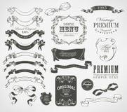 书法设计元素 库存照片