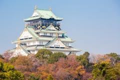 Замок Осака Стоковые Изображения