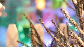 Рождественская елка сток-видео