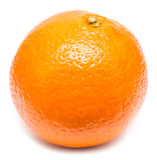 新鲜的橙色果子 库存照片