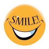 Πρόσωπο χαμόγελου Στοκ Φωτογραφίες