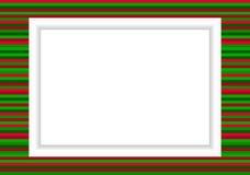 Πλαίσιο φωτογραφιών - ύφος Χριστουγέννων Στοκ Εικόνες