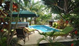 热带手段。埃法特岛。瓦努阿图 免版税库存照片