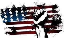 美国拳头 库存图片