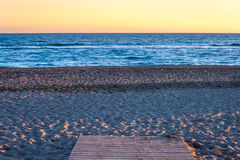 Путь к пляжу Стоковая Фотография